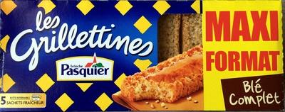 Les Grillettines au blé complet - Produit