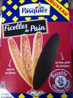 Ficelles de Pain Recette Sésame pavot - Product
