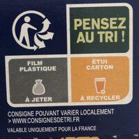 Tartines de Pain Blé Complet ×24 Tranches - Instruction de recyclage et/ou informations d'emballage - fr