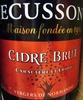Cidre Brut Ecusson 33 cl - Produit