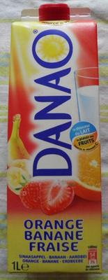 Orange Banane Fraise - Product