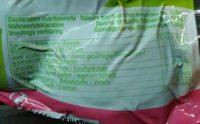 Betterave sous vide  catégorie 1 - Informations nutritionnelles - fr