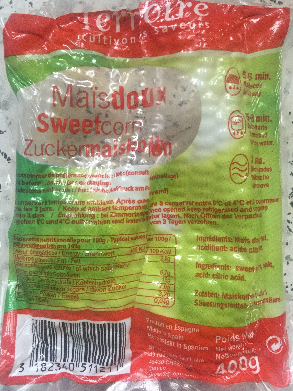 Maïs doux - Produit - fr