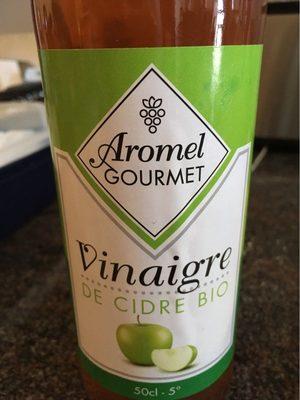 Vinaigre cidre biologique aromel gourmet 50 - Product