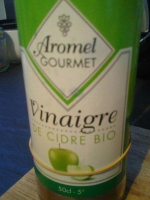 Vinaigre cidre biologique aromel gourmet 50 - Nutrition facts