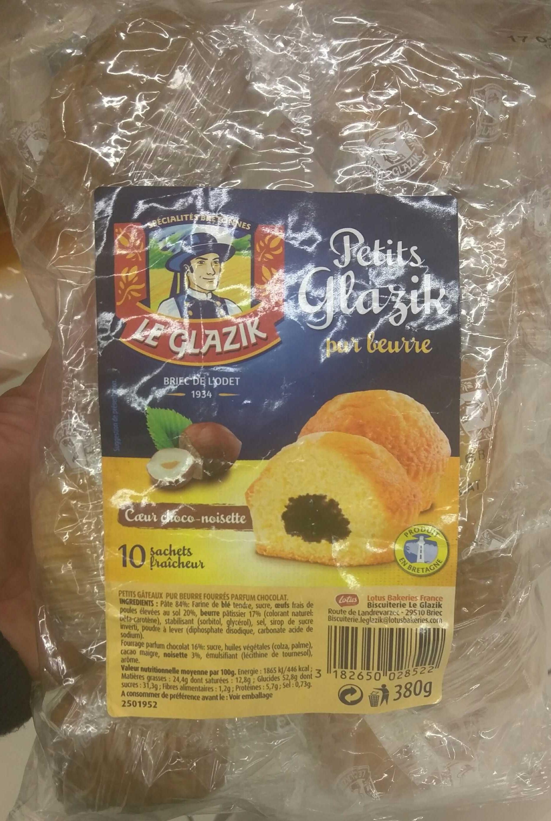 Petits Glazik Coeur Choco-Noisette - Product - fr