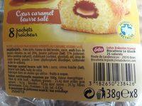 Petit Glazik pur beurre - coeur caramel au beurre salé - Ingredients