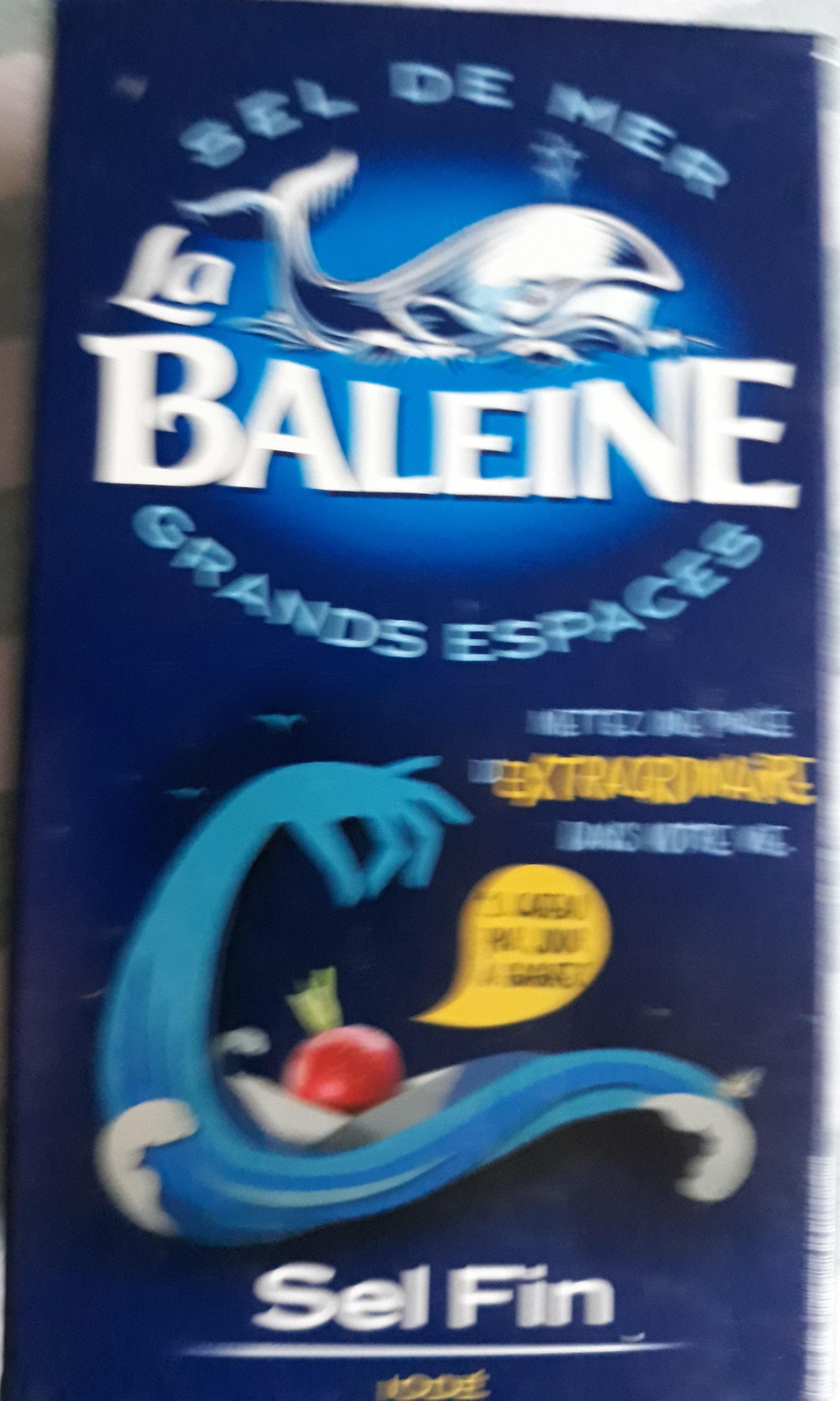 sel de mer la baleine - 产品 - fr