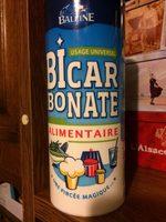 BOITE BICARBONATE 400GR LA BALEINE - Voedigswaarden