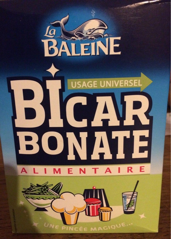Bicarbonate alimentaire - Información nutricional