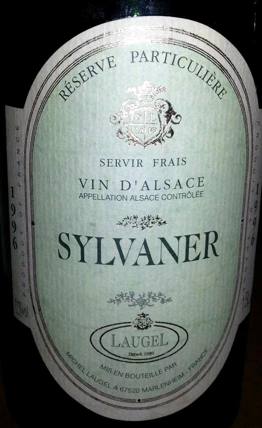 Sylvaner 1996 - Produit