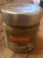 Confit d'aubergines à l'huile d'olive - Product - fr