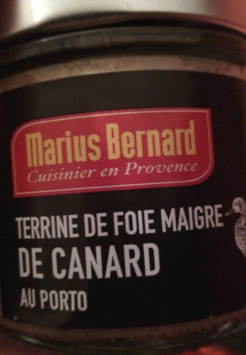 Terrine de foie maigre de canard - Product - fr