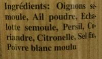 Mélange Poissons Spécial Papillotte - Ingredienti - fr