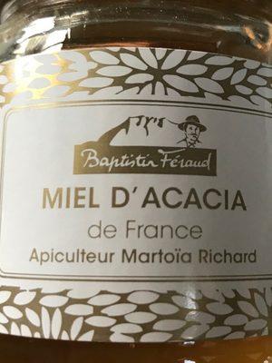 Miel d'Acacia - Ingredients