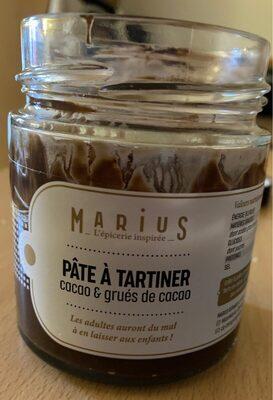 Pâte à tartiner cacao et Grués de cacao - Produkt - fr
