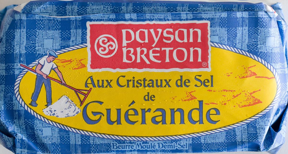 Beurre Moulé Demi-Sel Aux Cristaux de Sel de Guérande - Product - fr