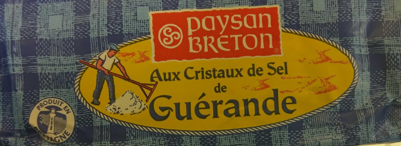 Beurre Moulé Demi-Sel Aux Cristaux de Sel de Guérande - Voedingswaarden - fr
