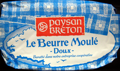 Le Beurre Moulé Doux (82 % MG) - Product - fr