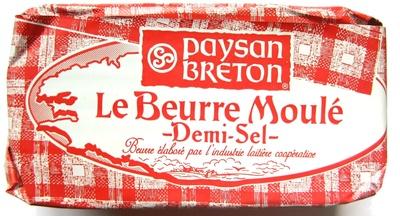 Le Beurre Moulé Demi-Sel (80 % MG) - Produkt