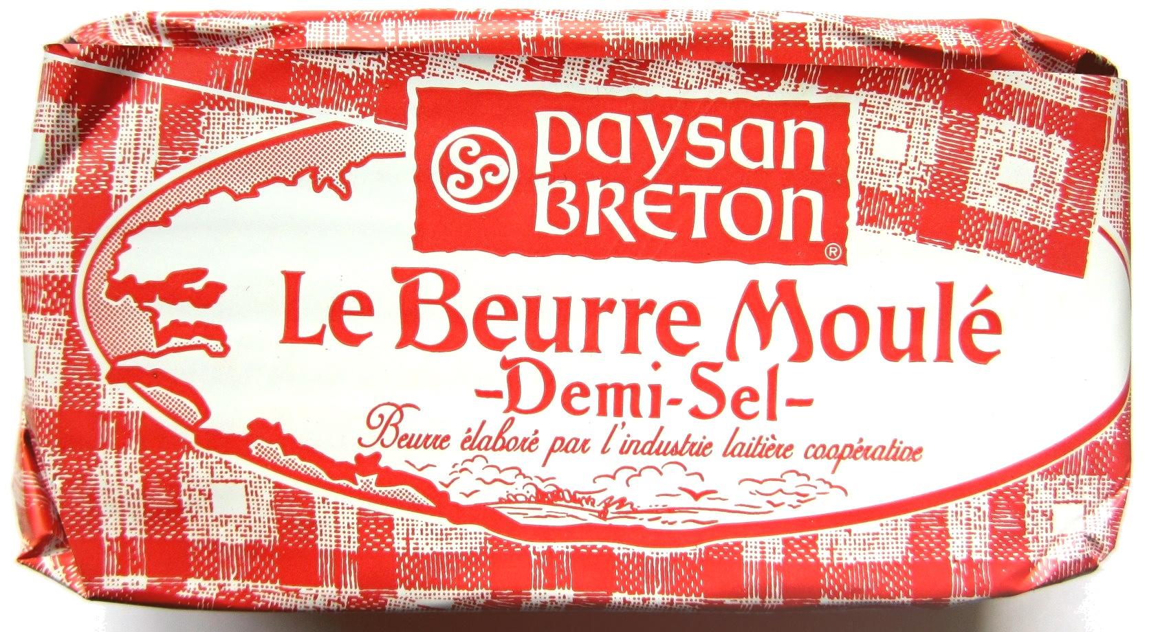 Le Beurre Moulé Demi-Sel (80 % MG) - Prodotto - fr