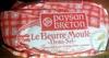 Le Beurre Moulé Demi-Sel (80 % MG) - Produit