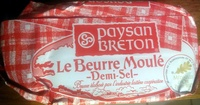 Le Beurre Moulé Demi-Sel (80 % MG) - Product - fr