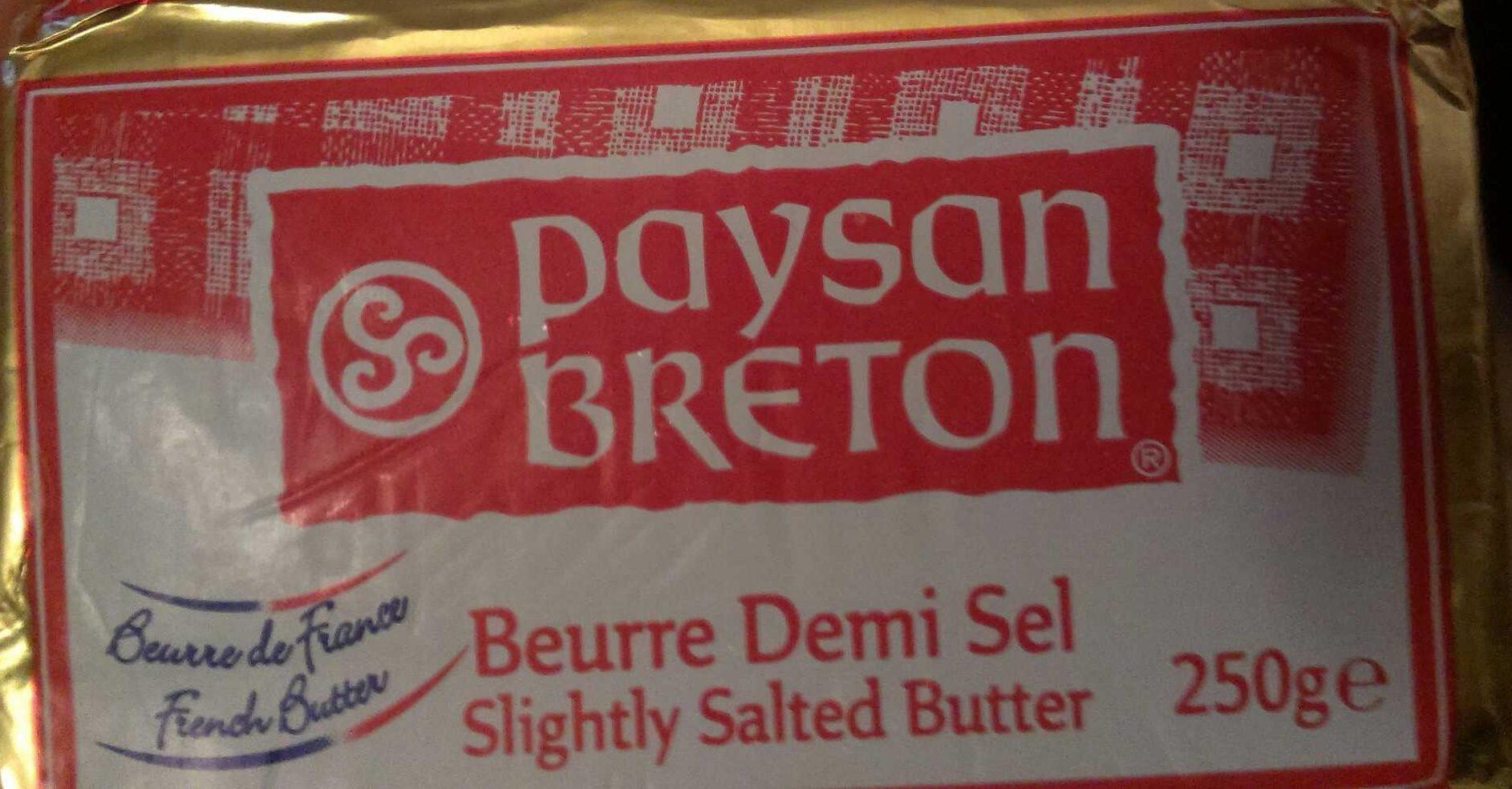 Slightly Salted Butter - Produit - fr