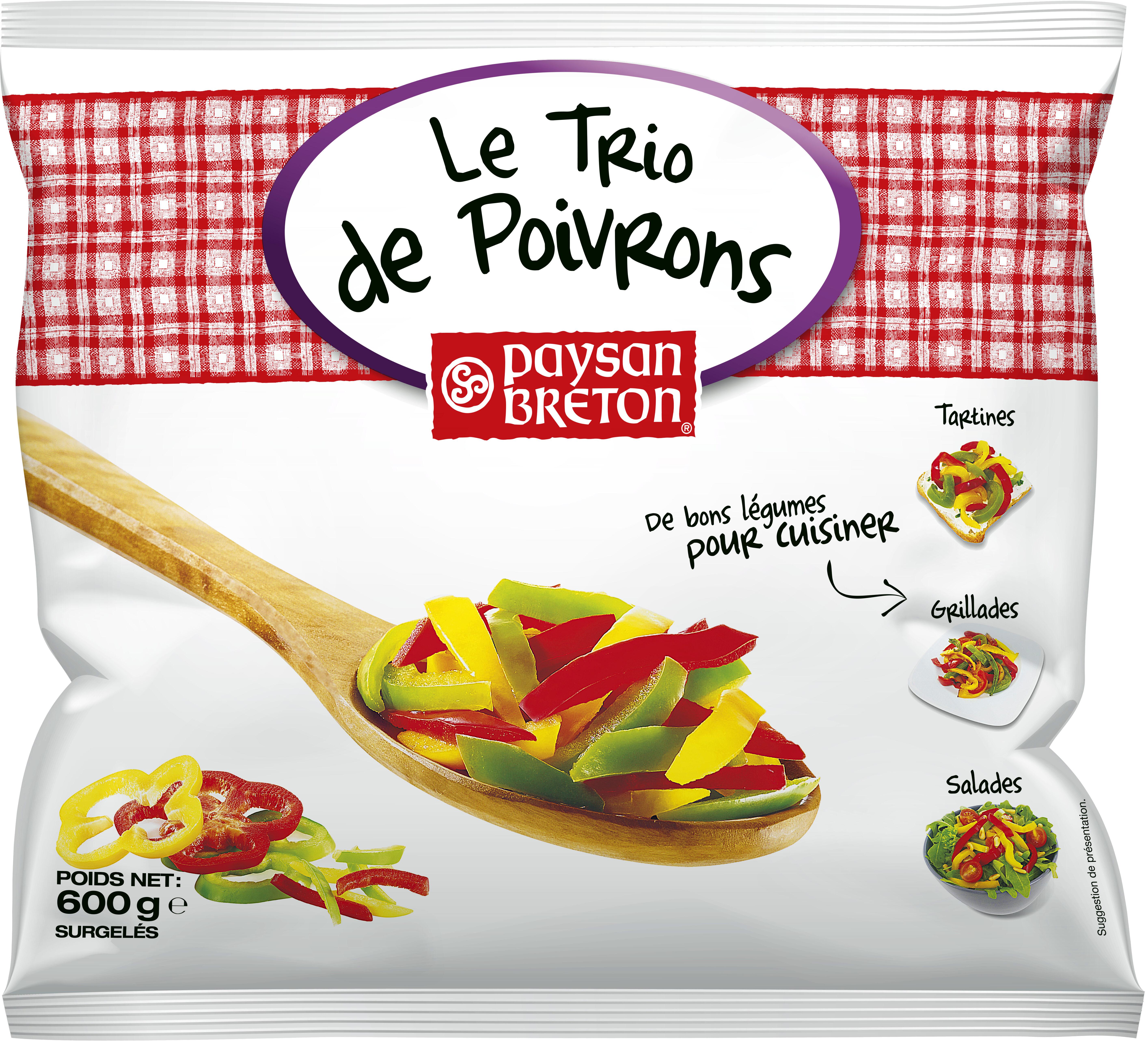 Trio de Poivrons - Produit - fr