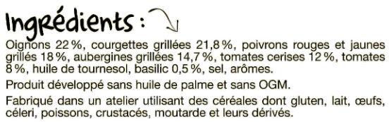 La poêlée côté sud - Ingredients - fr