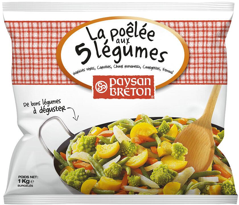 La poêlée aux 5 légumes - Produit - fr