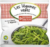 Les légumes verts - Produit - fr
