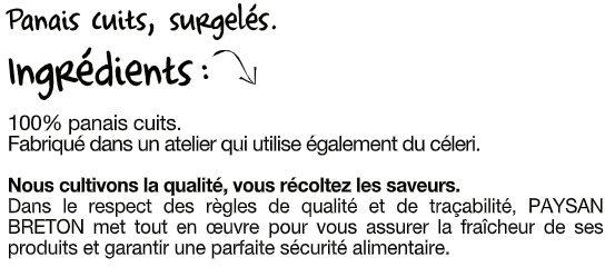Le Panais - Ingrédients - fr