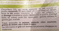 Gratin de Choux-Fleurs - Ingrediënten - fr