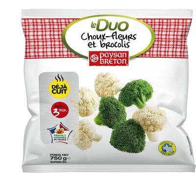 Duo chou-fleurs et brocolis - Produit - fr