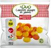 Duo de carottes rouges et jaunes - Produit
