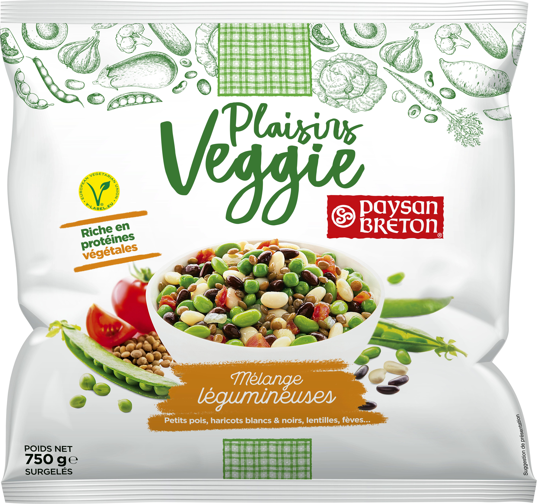 Plaisirs Veggie - Mélange légumineuses - Produit - fr