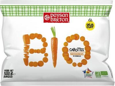Carottes en rondelles succulentes Bio - Produit - fr