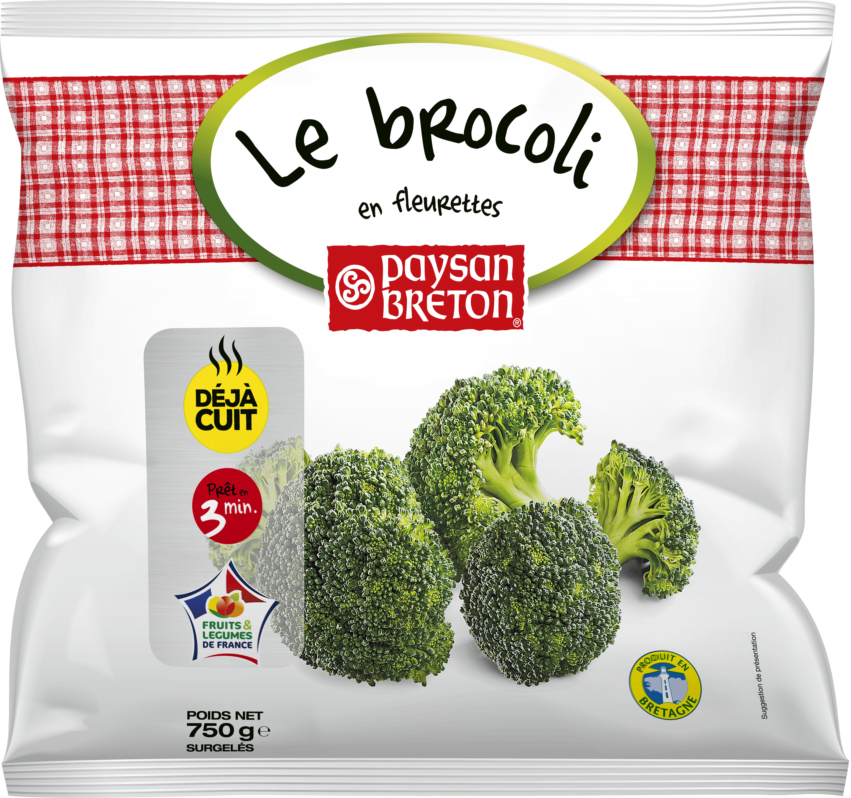 Le brocoli en fleurettes - Product - fr