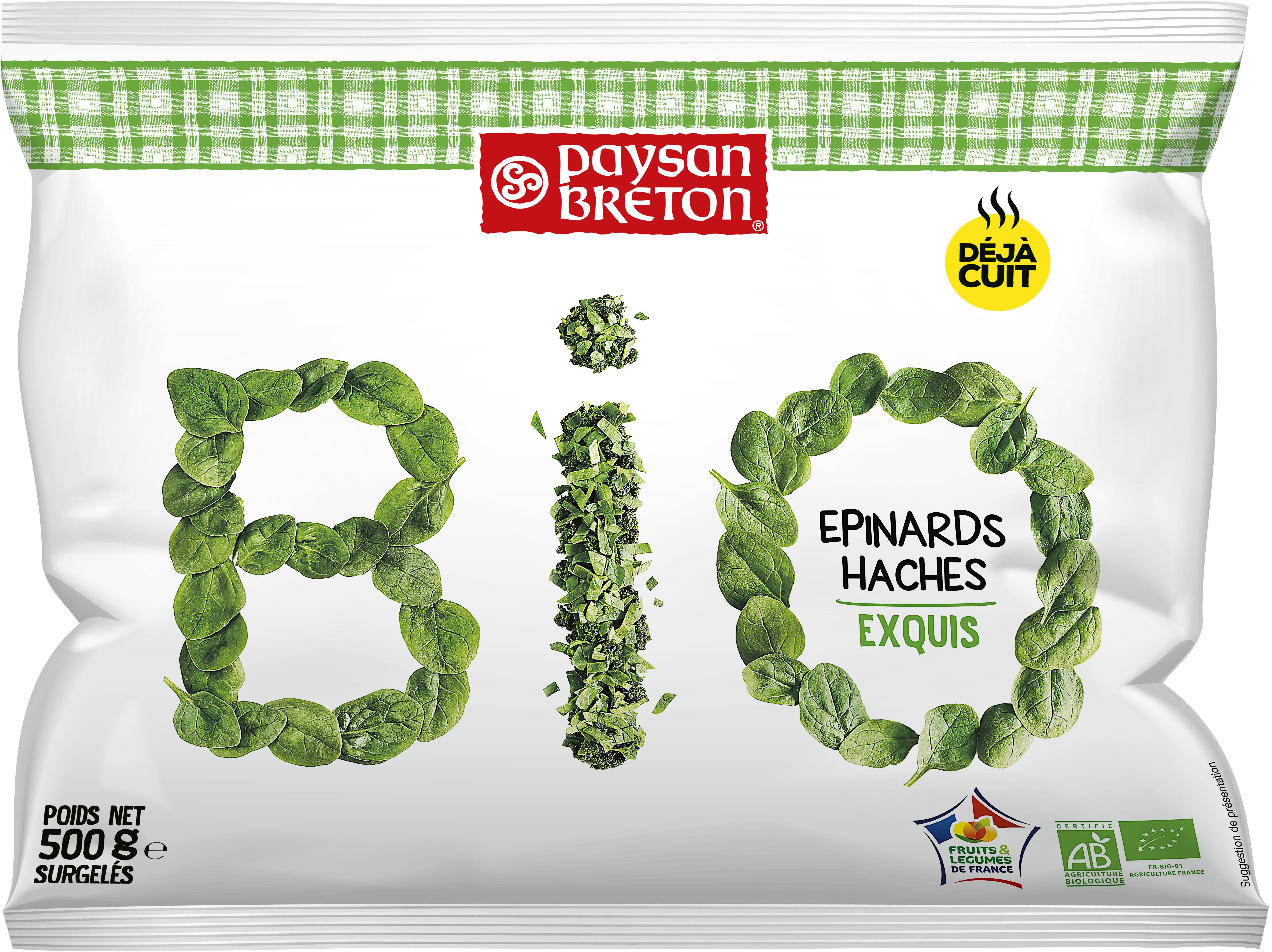 Épinards hachés exquis Bio - Produit - fr