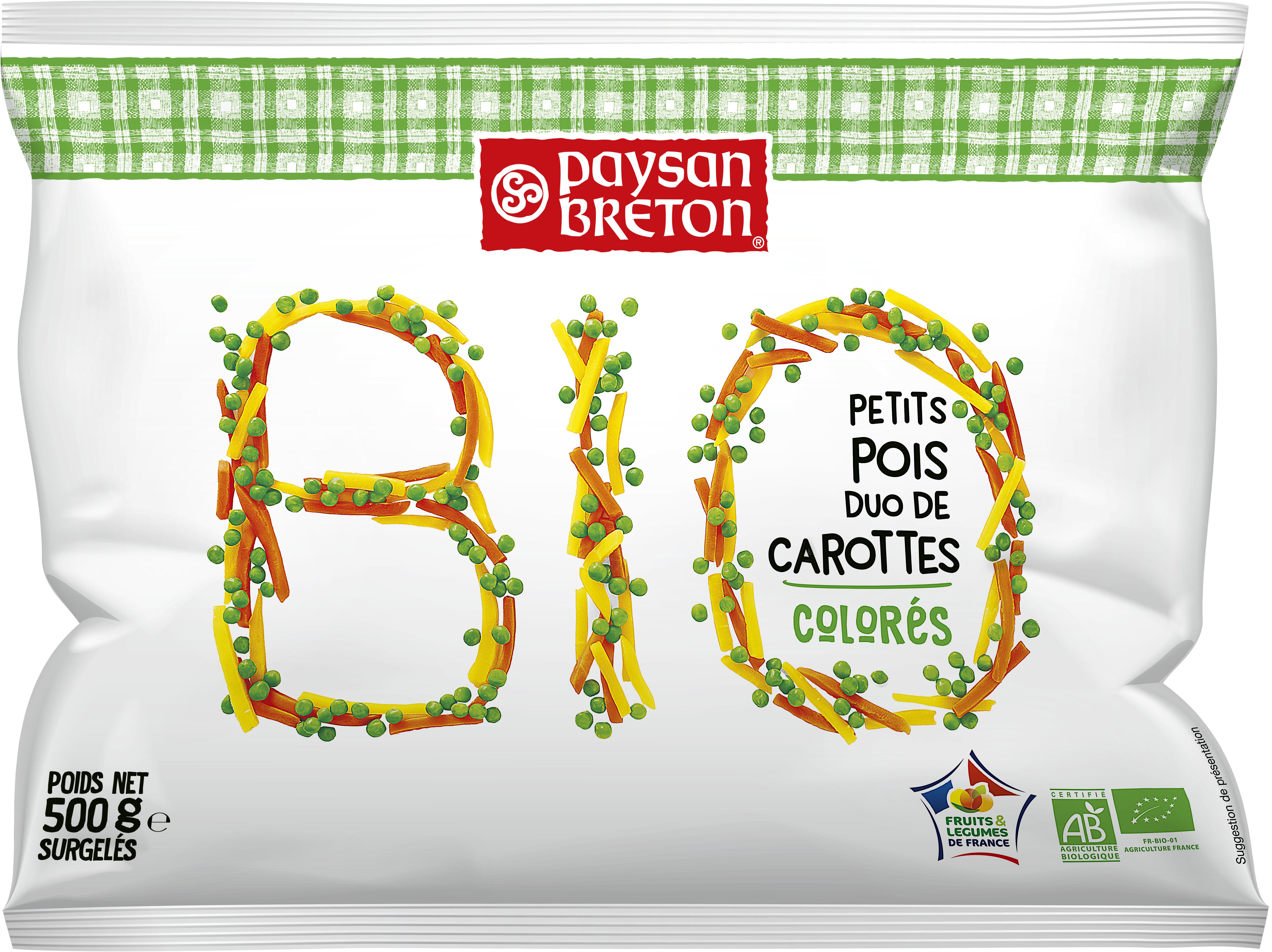 Petits Pois duo de carottes - Produit - fr