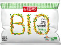 Petits pois duo de carottes BIO - Product - fr