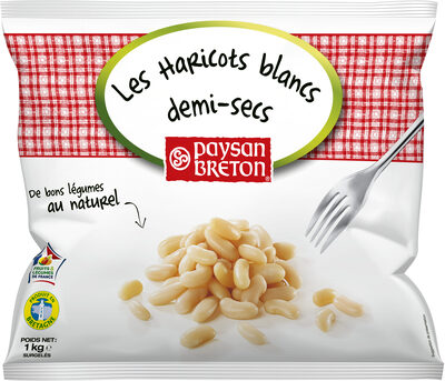 Haricots blancs demi secs - Product - fr