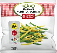 Duo haricots verts et beurre - Produit - fr