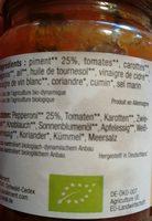 Harissa Demeter - Ingredients