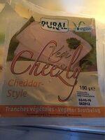 Vegi Cheezly, cheddar style - Product - fr