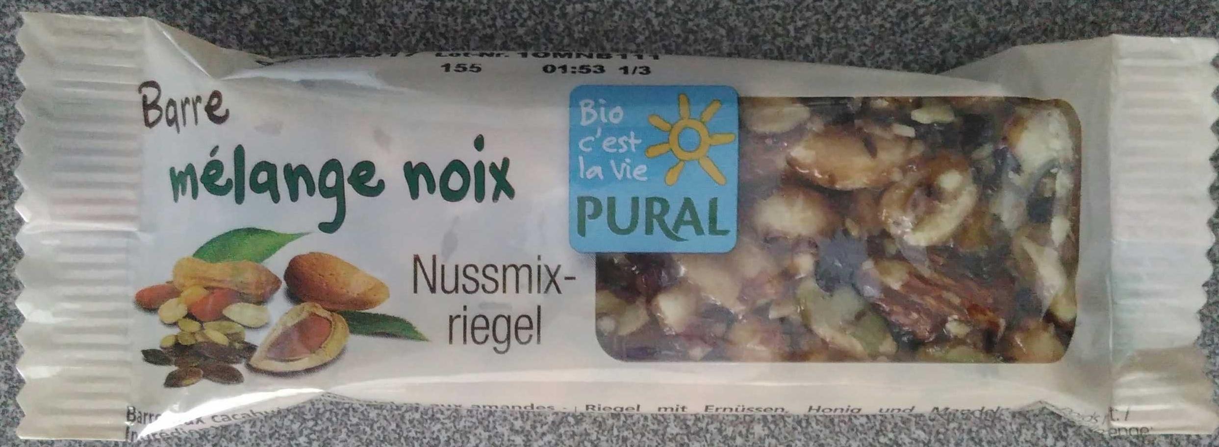 Barre mélange noix - Product