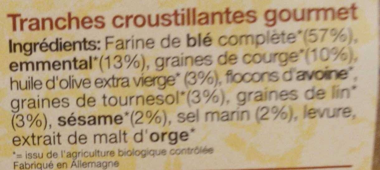 Crusty fromage graines de courge pural calories - Graines de citrouille grillees valeur nutritive ...