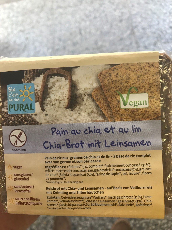 Pain au chia et au lin - Product