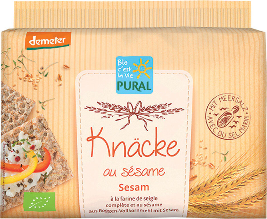 Knäcke au sésame - Prodotto - fr